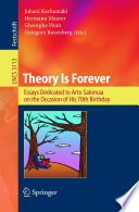 Theory Is Forever