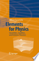 Elements for Physics