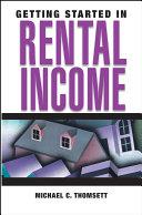 download ebook getting started in rental income pdf epub