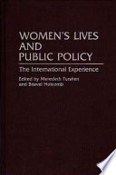 Women S Lives And Public Policy
