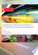 Sustainability  Eco efficiency  and Conservation in Transportation Infrastructure Asset Management