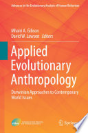 Applied Evolutionary Anthropology