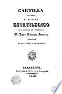 Cartilla para servir al sistema estatilegico del capitan de infanteria D. Juan Antonio Suarez