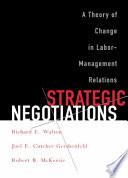 Strategic Negotiations