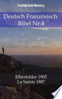 Deutsch Französisch Bibel Nr.4