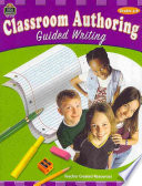 Classroom Authoring, Grades 4-8 Students To Learn Master And
