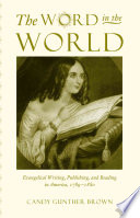 Ebook The Word in the World Epub Candy Gunther Brown Apps Read Mobile