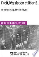 Droit L Gislation Et Libert De Friedrich August Von Hayek