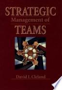 Strategic Management of Teams