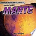 Matemáticas en Marte (Math on Mars)