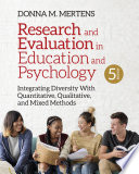 Research And Evaluation In Education And Psychology