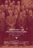 History of Psychotherapy
