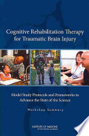 Cognitive Rehabilitation Therapy For Traumatic Brain Injury : report cognitive rehabilitation therapy for...