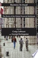 Ebook Business as Usual Epub Craig J. Calhoun,Georgi M. Derluguian Apps Read Mobile