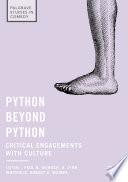 Python beyond Python