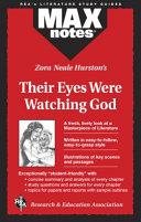Zora Neale Hurston s Their Eyes Were Watching God