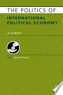 The Politics of International Political Economy