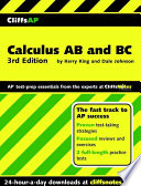 CliffsAP Calculus AB and BC  3rd Edition