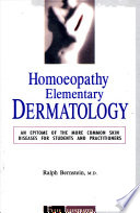 Homoeopathy Elementary Dermatology
