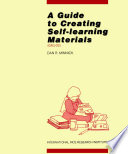 A Guide to Creating Self learning Materials