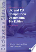 Blackstone s UK   EU Competition Documents