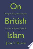 On British Islam book