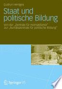 Staat und politische Bildung