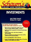Schaum s Outline of Theory and Problems of Investments