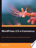 Wordpress 2 9 E Commerce