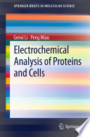 Electrochemical Analysis of Proteins and Cells