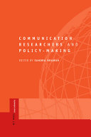 Communication Researchers and Policy-making