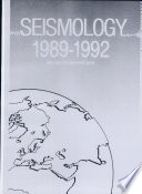 Seismology, 1989-1992