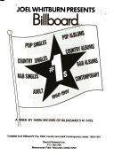 Joel Whitburn Presents Billboard  1s  1950 1991