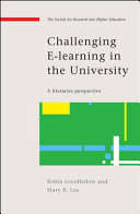 Challenging e learning in the university