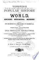 Yorston s Popular History of the World