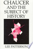 Chaucer and the Subject of History