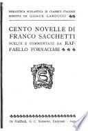 Cento novelle di Franco Sacchetti