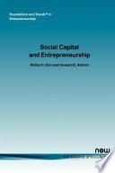 Social Capital and Entrepreneurship