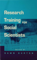 Research Training for Social Scientists