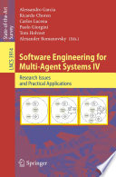 Software Engineering for Multi Agent Systems IV