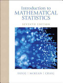 Introduction to Mathematical Statistics