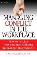 download ebook managing conflict in the workplace 4th edition pdf epub