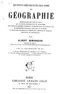 Dictionnaire-manuel-illustré de géographie