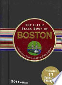 The Little Black Book of Boston  2011 Edition