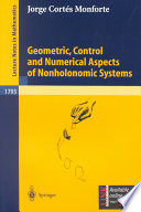 Geometric  Control and Numerical Aspects of Nonholonomic Systems