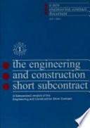 Engineering And Construction Short Subcontract