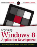 Beginning Windows 8 Application Development