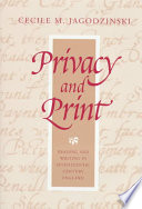 Privacy and Print