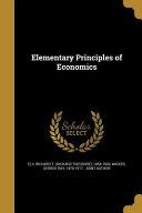 ELEM PRINCIPLES OF ECONOMICS Culturally Important And Is Part