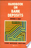 Handbook on bank deposits / Antonio V. Viray